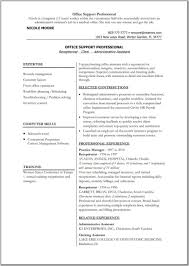 Basic Job Resume by Free Resume Templates Outline Word Professional Template With