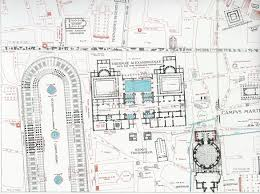 Baths Of Caracalla Floor Plan Thermae Alexandrianae Baths Of Nero Rodolfo Lanciani Roma