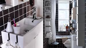ikea small bathroom ideas smart space small laundry and bath ikea
