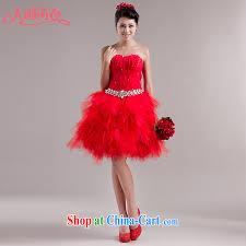 is still yi new bridal wedding dresses short bridesmaid dress wood