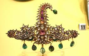 file sarpech turban ornament india possibly rajasthan mughal