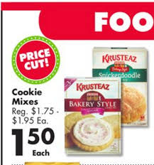 save on thanksgiving dessert krusteaz cookie mix 0 75 simple
