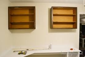Office Wall Cabinets With Doors Diy Upper Cabinets For My Office U2013part 2 Beneath My Heart