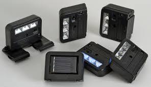 wunder light solar light set of 6 solar powered wunderlight spot deck lights wl 1 6 homebrite