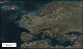 Ice Age Interactive Map My Blog by Coastlines Of The Ice Age Europe 7120x4267 Oc Map
