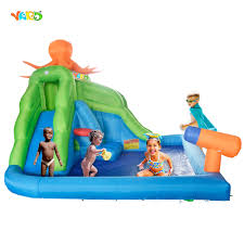 popular inflated water slides backyard buy cheap inflated water