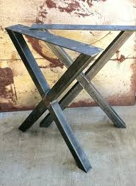 Chairs With Metal Legs Diy Dining Table Metal Legs Wood With Black Oak Iron Room Wooden