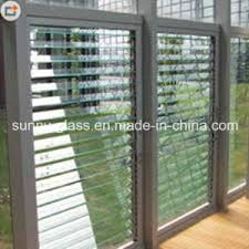 Glass Blinds China 6mm Louver Glass Shutters Glass Blinds Glass For The Window