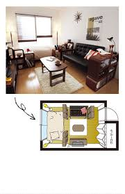 Small Desk Next To Sofa Put A Small Shelf Next To The Bed To Separate The Two Areas
