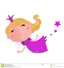 cute fairy princess character isolated on white royalty free stock