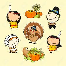 royalty free thanksgiving images set of images of funny kids 59 thanksgiving day theme royalty