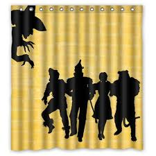 Oz Curtain Amazon Com Shower Curtain Off To See The Wizard Shower Curtain