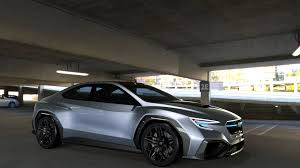 subaru viziv 2018 subaru viziv performance concept could preview next gen wrx