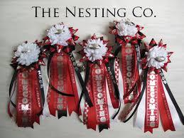 homecoming ribbon the nesting company homecoming mums