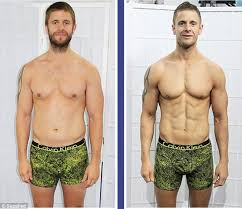 After Challenge Transformations After Eight Week F45 Challenge Daily Mail