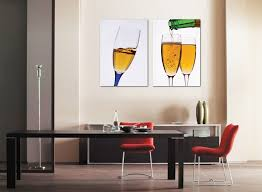 Painting For Dining Room Online Get Cheap 2 Piece Wine Canvas Paintings Aliexpress Com