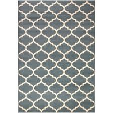 Home Decor Catalog Shopping Ottomanson Contemporary Moroccan Trellis Blue 7 Ft 10 In X 10 Ft