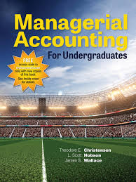 managerial accounting f undergraduates hobson and wallace