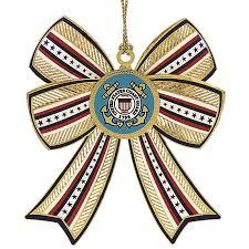the u s coast guard uscg and holidays ornament for