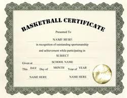 free basketball award certificate templates
