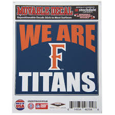 Csuf Map We Are Titans F Decal Cal State Fullerton