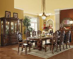 used dining room set 6 person round dining table 7 piece dining room set under 500 7