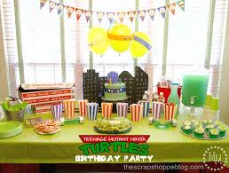 Teenage Mutant Ninja Turtles Easter Egg Decorating Kit by Teenage Mutant Ninja Turtle Tmnt Birthday Party The Scrap Shoppe