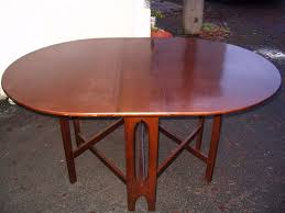 Oval Drop Leaf Dining Table Oval Drop Leaf Dining Table With Hinged Flaps Solid Wood Kitchen