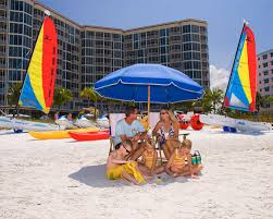 Sports Chair With Umbrella Beach Chairs And Umbrella Rentals Fort Myers Beach U2014 Holiday
