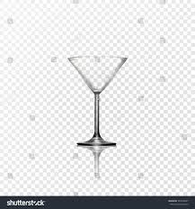 martini transparent background vector realistic glassmartinka effect transparency easy stock