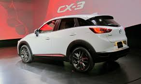 mazda canada 2016 mazda cx3 reveal at la auto show wheels ca