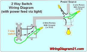2 way light switch wiring diagram house electrical outstanding for