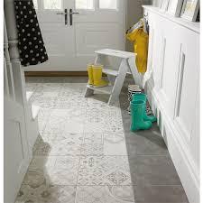Homebase Kitchen Tiles - find atlas grey patchwork ceramic wall u0026 floor tile 9 pack at