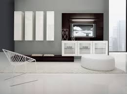 Wohnzimmerverbau Modern Wohnwand Design Weiß Rheumri Com