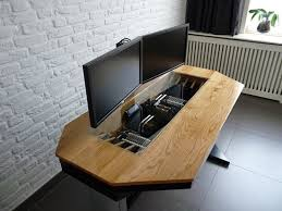 Diy Desk Designs Diy Computer Desk Caseinterior Design Ideas Desk Interior