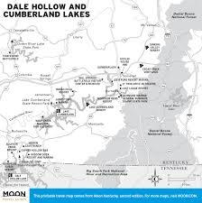 cumberland lake map printable travel maps of kentucky moon travel guides