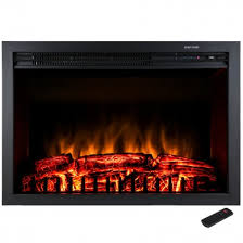 Electric Fireplace Insert Akdy Fp0045 33 In Freestanding Electric Fireplace Insert Heater