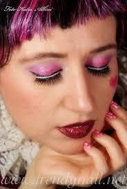 trendy nail tutorial monster high draculaura makeup and nailart