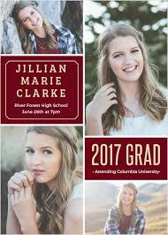 announcements for graduation 2017 graduation announcements invitations for high school and