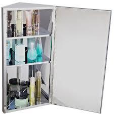 Meuble De Rangement Salle Bain Armoire 1 Miroir Armoire Miroir Rangement Toilette Salle De Bain Meuble Mural D Angle