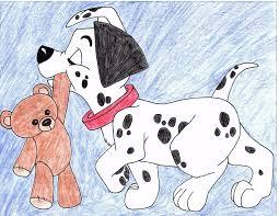 101 dalmatians puppy drawing julietcapulet432 deviantart