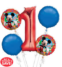 balloon delivery baton mickey mouse balloons party city