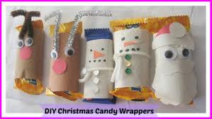 how to make reindeer snowman santa christmas mini candy bar