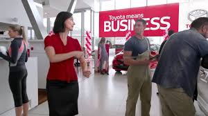 toyota commercial actress australia chatswood toyota means business youtube