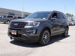 Ford Explorer Blue - 2017 2018 ford explorer for sale in los angeles ca cargurus