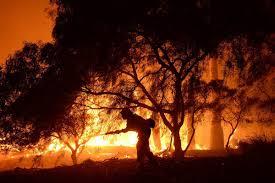 Wildfire Lompoc Ca by Sherpa Wildfire Threatens Santa Barbara Nbc News