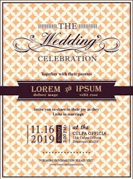Wedding Invitation Cards Wedding Invitation Card Template Free Vector Download 22 638 Free