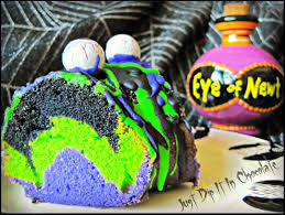 Halloween Cakes Easy To Make by Just Dip It In Chocolate Eye Of Newt Halloween Bundt Cake Recipe
