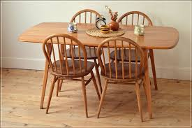 Ercol Dining Table And Chairs Vintage Ercol Dining Table Kitchen Table Plank Elm In