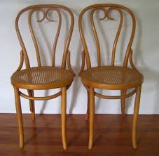 Bentwood Bistro Chair Etsy 2 Vintage Bentwood Cane Seat Cafe Bistro Chairs Zpm By